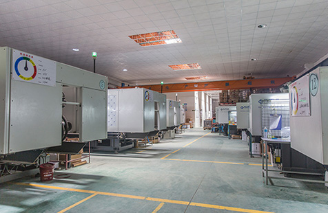 Injection plant